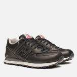 New Balance ML574UKD Sneakers Black photo- 1