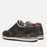 Мужские кроссовки New Balance ML574UKD Black фото- 2