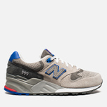 Мужские кроссовки New Balance ML999BSG Barber Shop Pack Grey/Red/Blue фото- 0