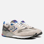Мужские кроссовки New Balance ML999BSG Barber Shop Pack Grey/Red/Blue фото- 1