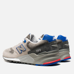 Мужские кроссовки New Balance ML999BSG Barber Shop Pack Grey/Red/Blue фото- 2