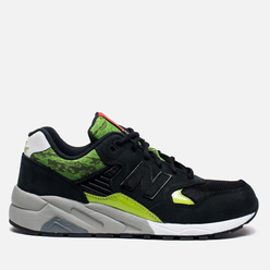 Мужские кроссовки New Balance MRT580SM x Mita Sneakers x SBTG Black/Green