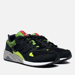 Мужские кроссовки New Balance MRT580SM x Mita Sneakers x SBTG Black/Green фото- 1