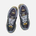 Мужские кроссовки New Balance x Shelflife x Dr. Z x 574 Сity of Gold Charcoal/Gold фото- 4