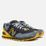 Мужские кроссовки New Balance x Shelflife x Dr. Z x 574 Сity of Gold Charcoal/Gold фото- 1