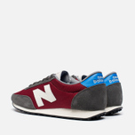 Мужские кроссовки New Balance U410HKR Grey/Red фото- 2