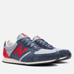 Кроссовки New Balance U420PRBR Navy/Red фото- 1