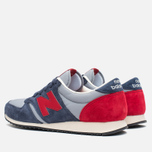 Кроссовки New Balance U420PRBR Navy/Red фото- 2