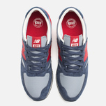 Кроссовки New Balance U420PRBR Navy/Red фото- 4