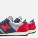 Кроссовки New Balance U420PRBR Navy/Red фото- 7
