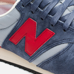 Кроссовки New Balance U420PRBR Navy/Red фото- 5