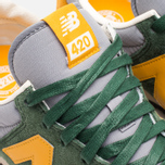Кроссовки New Balance U420PRGY Green/Yellow фото- 7