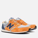 Кроссовки New Balance U420PROB Orange/Navy фото- 1