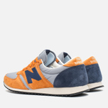 Кроссовки New Balance U420PROB Orange/Navy фото- 2