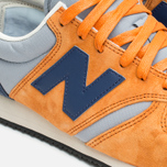 Кроссовки New Balance U420PROB Orange/Navy фото- 5