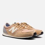 Мужские кроссовки New Balance U420SRCB Beige/Grey фото- 1