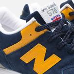 New Balance W576PBY Navy/Yellow photo- 7