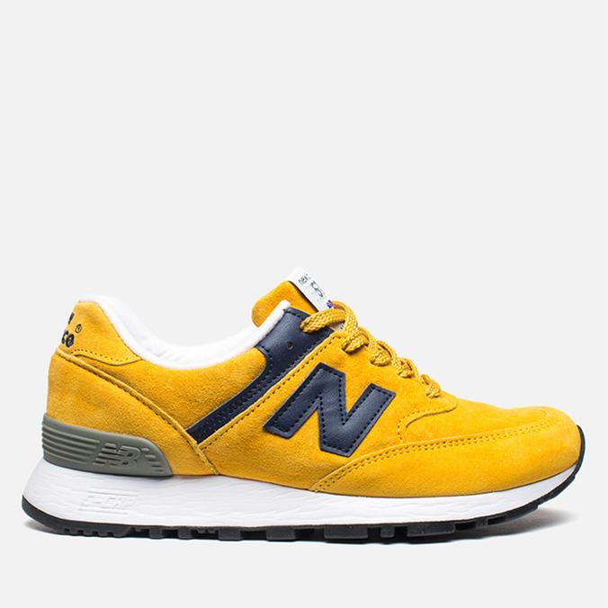 Женские кроссовки New Balance W576PYB Yellow/Navy