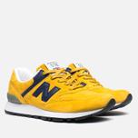 Женские кроссовки New Balance W576PYB Yellow/Navy фото- 1