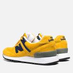 Женские кроссовки New Balance W576PYB Yellow/Navy фото- 2