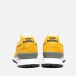 Женские кроссовки New Balance W576PYB Yellow/Navy фото- 3