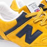 Женские кроссовки New Balance W576PYB Yellow/Navy фото- 7