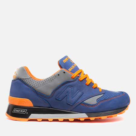 Мужские кроссовки New Balance x Limited Edt M577LEV Made in England Blue/Orange