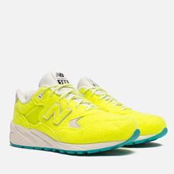Мужские кроссовки New Balance x Mita Sneakers The Battle Surfaces MRT580 Yellow