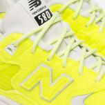 Мужские кроссовки New Balance x Mita Sneakers The Battle Surfaces MRT580 Yellow фото- 7