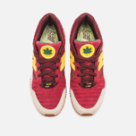 Мужские кроссовки New Balance x Ronnie Fieg M530KH Central Park Sneakers Burgundy/Yellow фото- 4