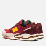 Мужские кроссовки New Balance x Ronnie Fieg M530KH Central Park Sneakers Burgundy/Yellow фото- 2