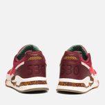 Мужские кроссовки New Balance x Ronnie Fieg M530KH Central Park Sneakers Burgundy/Yellow фото- 3