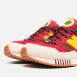 Мужские кроссовки New Balance x Ronnie Fieg M530KH Central Park Sneakers Burgundy/Yellow фото- 5