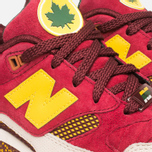 Мужские кроссовки New Balance x Ronnie Fieg M530KH Central Park Sneakers Burgundy/Yellow фото- 7