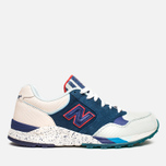 Мужские кроссовки New Balance x Ronnie Fieg M850KH Brooklyn Bridge Navy/Blue/Beige фото- 0