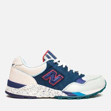 New Balance x Ronnie Fieg M850KH Brooklyn Bridge Sneakers Navy/Blue/Beige