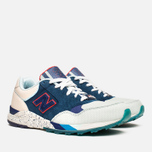 Мужские кроссовки New Balance x Ronnie Fieg M850KH Brooklyn Bridge Navy/Blue/Beige фото- 1