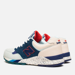 Мужские кроссовки New Balance x Ronnie Fieg M850KH Brooklyn Bridge Navy/Blue/Beige фото- 2