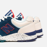 Мужские кроссовки New Balance x Ronnie Fieg M850KH Brooklyn Bridge Navy/Blue/Beige фото- 6
