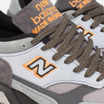 Мужские кроссовки New Balance x Starcow M1500SCB Grey/Orange фото- 7