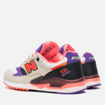 Мужские кроссовки New Balance x West NYC M530WST White/Black/Infrared фото- 2