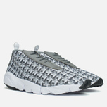 Мужские кроссовки Nike Air Footscape Desert Chukka Grey/White/Platinum фото- 1