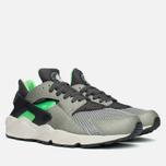 Nike Air Huarache Sneakers Grey/Fog/Green photo- 1