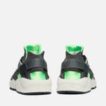 Nike Air Huarache Sneakers Grey/Fog/Green photo- 3