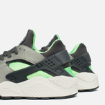 Nike Air Huarache Sneakers Grey/Fog/Green photo- 7