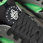 Nike Air Huarache Sneakers Grey/Fog/Green photo- 6