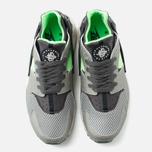 Мужские кроссовки Nike Air Huarache Grey/Fog/Green фото- 4