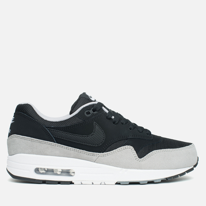 Мужские кроссовки Nike Air Max 1 Essential Black/Silver