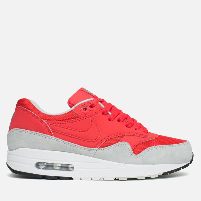 Мужские кроссовки Nike Air Max 1 Essential Red/Grey