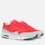 Мужские кроссовки Nike Air Max 1 Essential Red/Grey фото- 1